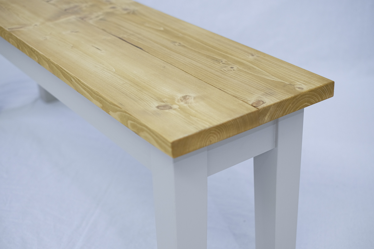 Bench tapered legs
