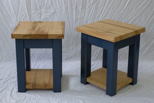 Linglie Hardwood Side Tables